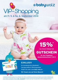 Baby Walz VIP-Shopping September 2014 KW36