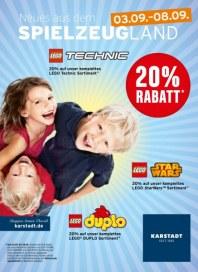 KARSTADT Spiel - Neues aus dem Spielzeugland - 20% Rabatt September 2014 KW36