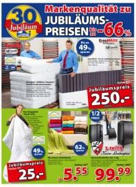 Dänisches Bettenlager Markenqualität zu Jubiläumspreisen September 2014 KW37