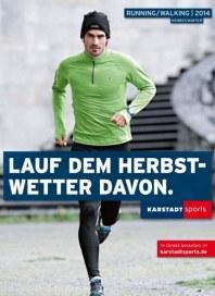 KARSTADT Karstadt sports - Running/walking 2014 September 2014 KW37
