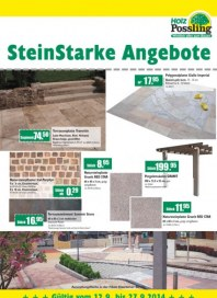 Holz Possling SteinStarke Angebote September 2014 KW37