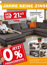 Möbel Kraft Jetzt 0% Finanzierung September 2014 KW38