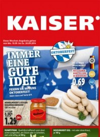 Kaiser's Immer eine gute Idee September 2014 KW38 4