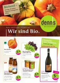 Denn's Biomarkt Aktuelle Angebote September 2014 KW37