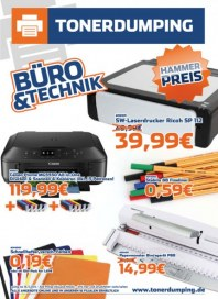 Tonerdumping Büro & Technik September 2014 KW38