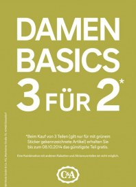 C&A Damen Basics 3 für 2 September 2014 KW38
