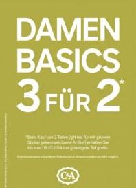 C&A Damen Basics 3 für 2 September 2014 KW38