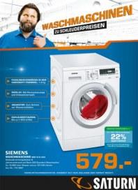 Saturn Waschmaschinen zu Schleuderpreisen September 2014 KW38