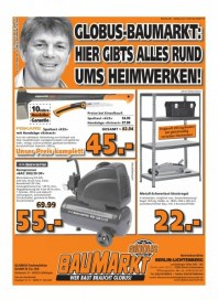 Globus Baumarkt Haupflyer September 2014 KW39 3