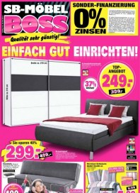 SB Möbel Boss Aktuelle Angebote September 2014 KW39