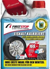 First Stop Reifen Auto Service GmbH Ihre erste Wahl für den Winter September 2014 KW40