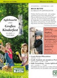Pflanzen Kölle Großes Kinderfest September 2014 KW39