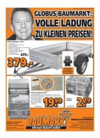 Globus Baumarkt Haupflyer September 2014 KW40 4