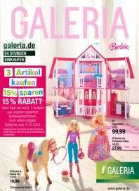 Galeria Kaufhof Spielwaren Angebote Oktober 2014 KW40