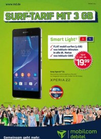 mobilcom-debitel Surf-Tarif mit 3 GB Oktober 2014 KW40 1