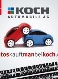 Koch Automobile Autos kauft man bei Koch Oktober 2014 KW40