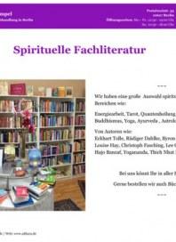 Adhara Büchertempel Spirituelle Fachliteratur Oktober 2014 KW40