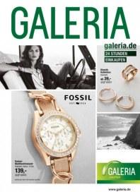 Galeria Kaufhof Fossil - Uhren und Schmuck Oktober 2014 KW40
