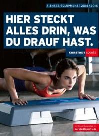 KARSTADT Karstadt sports - Hier steckt alles drin, was du drauf hast Oktober 2014 KW40