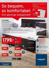 KARSTADT Matratzen & Bettwaren - So bequem, so komfortabel: Ihre günstige Gelegenheit Oktober 2014 K