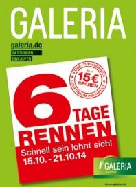 Galeria Kaufhof 6-Tage-Rennen Oktober 2014 KW42