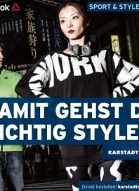 KARSTADT Karstadt sports - Sport & Style 2014 Oktober 2014 KW42