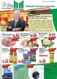 Marktkauf Einkaufen bei guten Freunden Oktober 2014 KW43