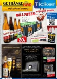 Getränkeland Halloween...erfrischend gruselig Oktober 2014 KW43