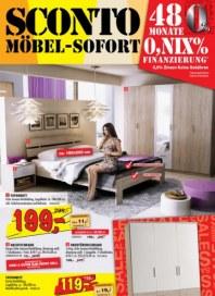 Sconto Möbel-Sofort Oktober 2014 KW43
