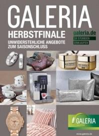 Galeria Kaufhof Herbstfinale Oktober 2014 KW43