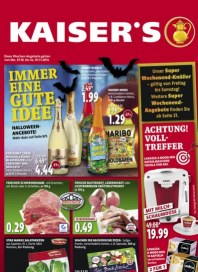 Kaiser's Immer eine gute Idee Oktober 2014 KW44 6
