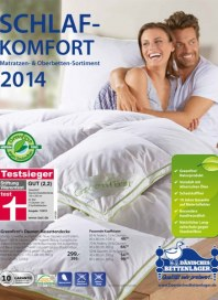 Dänisches Bettenlager Schlafkomfort 2014 Oktober 2014 KW44