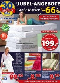 Dänisches Bettenlager Jubel-Angebote Oktober 2014 KW44