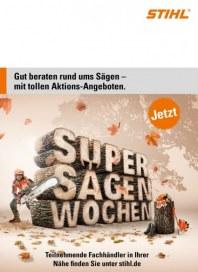 Stihl Jetzt: Super Sägen Wochen November 2014 KW44