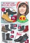 K+K Schuh-Center Im neuen Look durch den Herbst!-Seite1