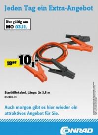 Conrad Jeden Tag ein Extra-Angebot November 2014 KW45