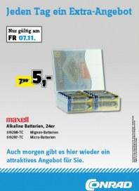 Conrad Jeden Tag ein Extra-Angebot November 2014 KW45 5