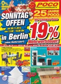 POCO Sonntag offen in Berlin November 2014 KW45