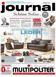 Multipolster Journal - Schöne Sofas November 2014 KW46