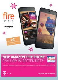Telekom Shop Neu: Amazon Fire Phone - Exklusiv im besten Netz November 2014 KW46