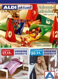 Aldi Nord Aldi Aktuell - Angebote ab Montag, 17.11 November 2014 KW47