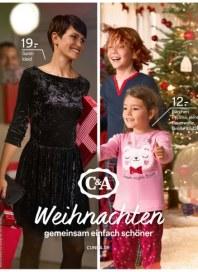 C&A Weihnachten - gemeinsam einfach schöner November 2014 KW47 1