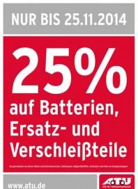 A.T.U Auto Teile Unger Aktion - nur bis 25.11.2014 November 2014 KW47