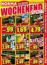Norma Wochenend-Spezial - Jetzt zugreifen Dezember 2014 KW49