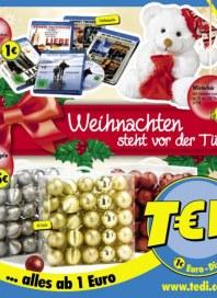 Tedi GmbH & Co. KG Weihnachten steht vor der Tür Dezember 2014 KW49
