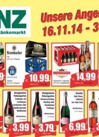Benz Getränkemarkt Aktuelle Angebote Dezember 2014 KW49
