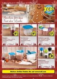 Tedi GmbH & Co. KG Backen für das Fest der Liebe Dezember 2014 KW49