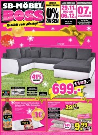 SB Möbel Boss Aktuelle Angebote Dezember 2014 KW49