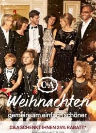 C&A Weihnachten - gemeinsam einfach schöner November 2014 KW47 4