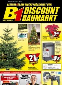 B1 Discount Baumarkt Aktuelle Angebote Dezember 2014 KW49